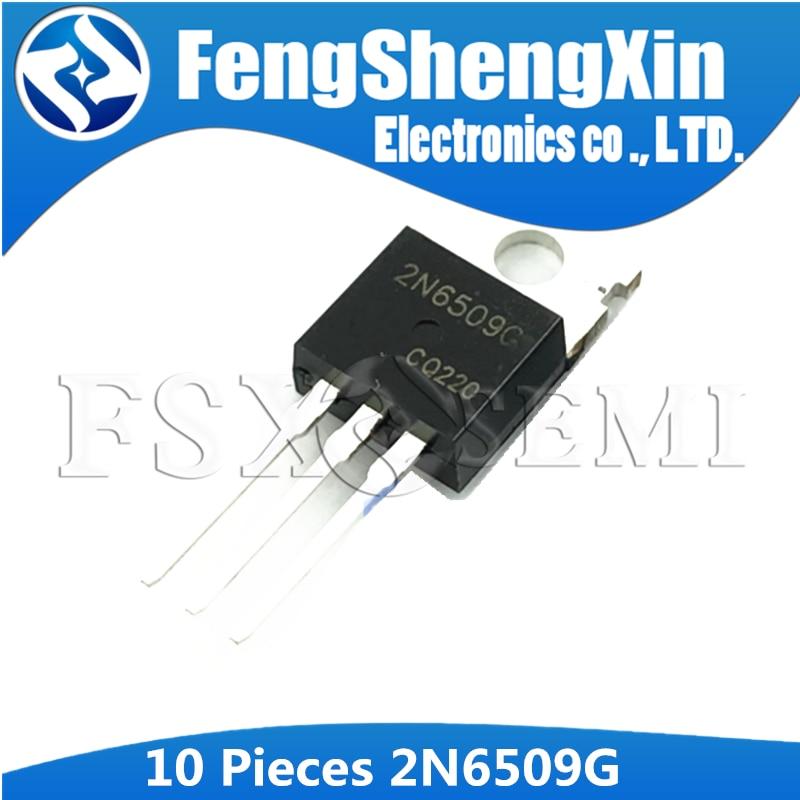 10 pces 2n6509g to-220 2n6509 to220 silício controlado retificadores transistor