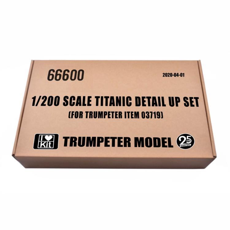 TRUMPETER-مجموعة تفاصيل تيتانيك ، مقياس 66600 1/200 ، [لعناصر TRUMPETER 03719