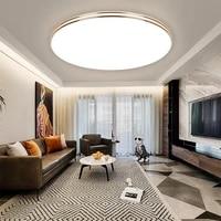 ultra thin led ceiling light panel light 12 18 24 36 72w surface modern for living bathroom ceiling lamp home kitchen lighting