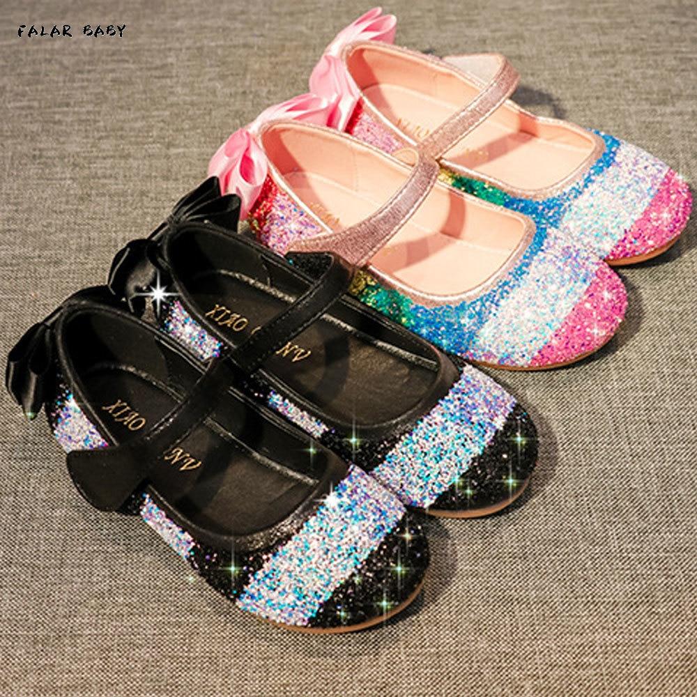 طفل الفتيات الأسود هالوين أحذية للأطفال بريق أحذية زهرة الفتيات أحذية الأميرة الوردي أحذية عيد الميلاد أحذية الحفلات 2t 3t 4t