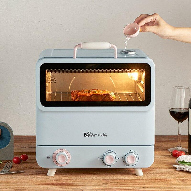 Pouco forno doméstico forno de cozimento de 20 litros adorável vapor forno elétrico independente controle de temperatura DKX-D20E
