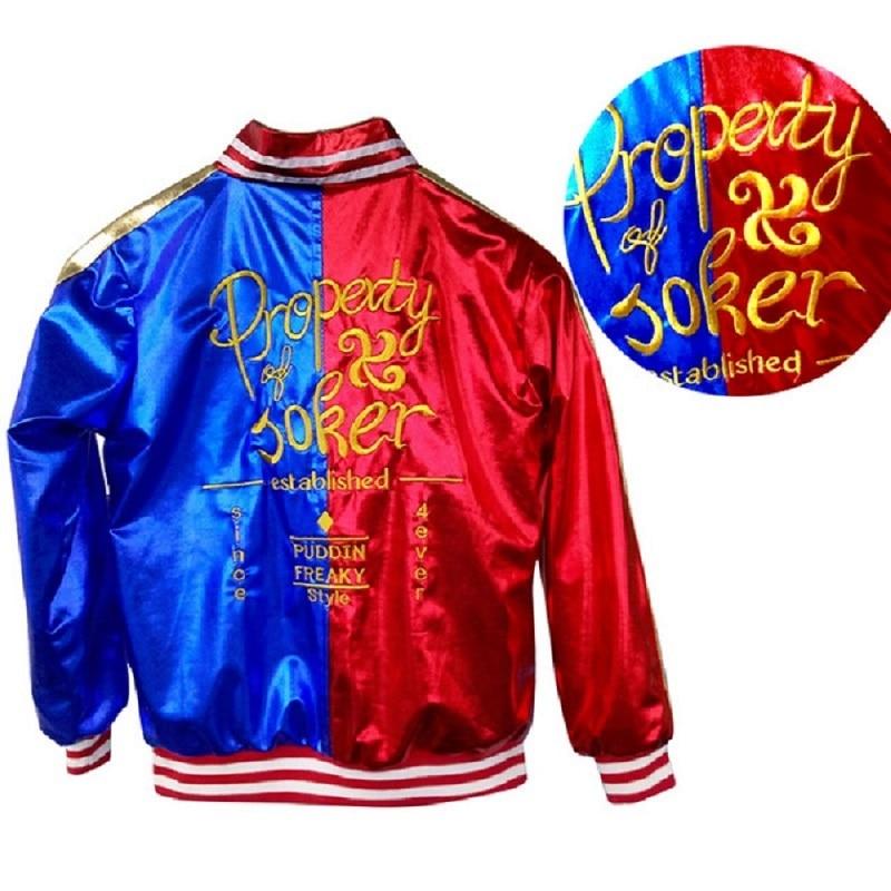 Adults kids Jacket T Shirt shorts wig belt necklet bracelet Suicide cosplay Costumes Harley Squad Quinn Monster Accessories