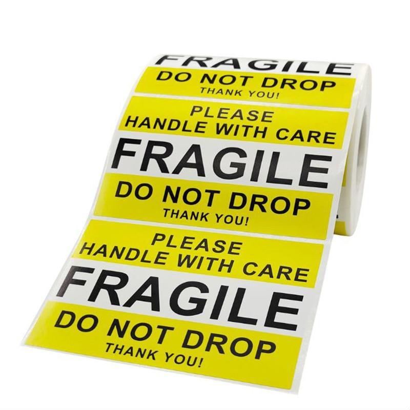 gracias-pegatina-de-advertencia-delicado-etiquetas-grandes-de-papel-amarillo-de-sellado-suministro-de-papeleria-decoracion-album-de-recortes-50-uds