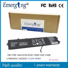 11.1V 45Wh New Original L14M3P24  Laptop battery for Lenovo xiaoxin 700 Y700 14isk R720 E520 15IKB Y520 15IKB