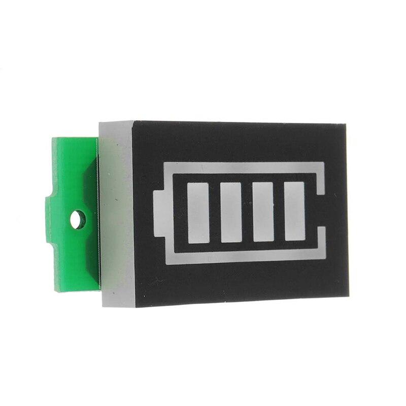 Module dindicateur de capacité de batterie au Lithium testeur de niveau de puissance daffichage bleu