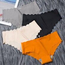 Бесшовное женское нижнее белье из вискозы, высококачественное нижнее белье из чистого хлопка в японском стиле для девушек