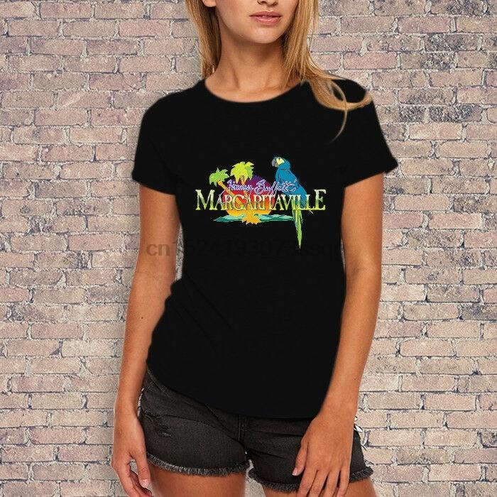 Camiseta para mujer con el logotipo de Jimmy Buffett