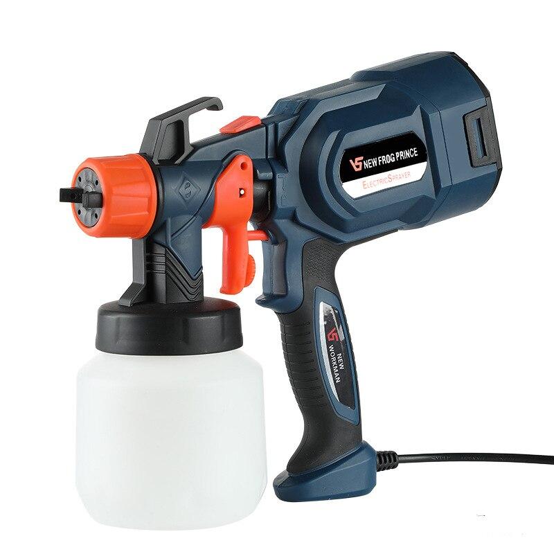 650W Electric Spray Gun 3 Nozzle Sizes 850ml HVLP Household Paint Sprayer Flow Control Airbrush Easy Spraying by PROSTORMER