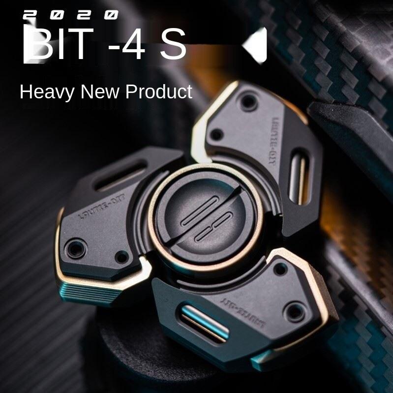 New Bit09se Fingertip Gyro Mecha Style Trendy Play EDC Finger Toy High-Speed Mute Lasting enlarge
