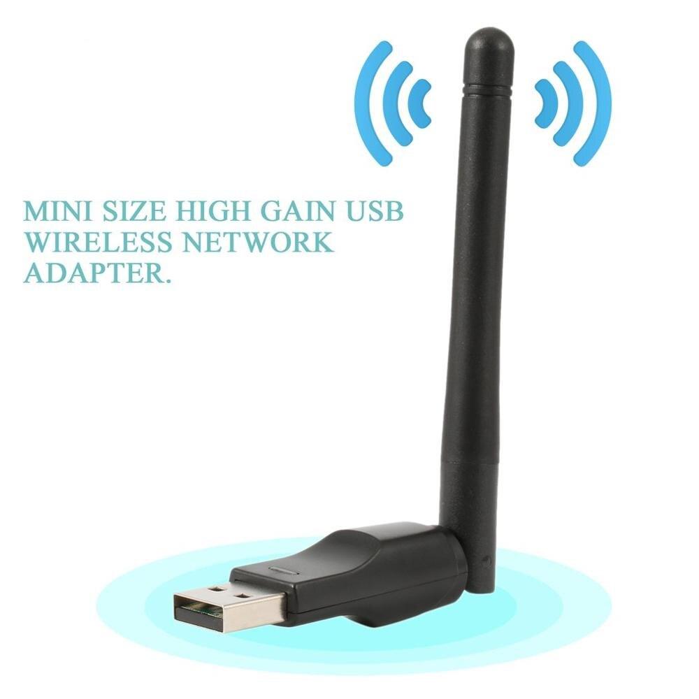 WIFI USB адаптер RT7601 150 Мбит/с USB 2,0 WiFi беспроводная сетевая карта 802,11 b/g/n LAN адаптер с поворотная антенна