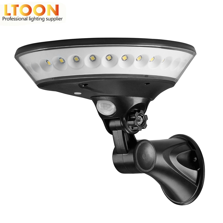 AliExpress - 360 degree lighting outdoor solar light PIR motion sensor solar garden light energy saving street lamp wall lamp Three modes