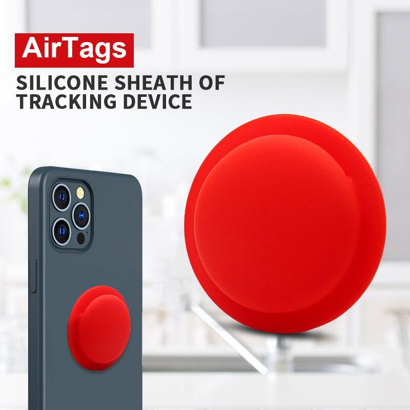 Силиконовый защитный рукав для airтеги, устройство против потери, защитный рукав, жидкий силиконовый защитный рукав, крышка для домашнего хр...