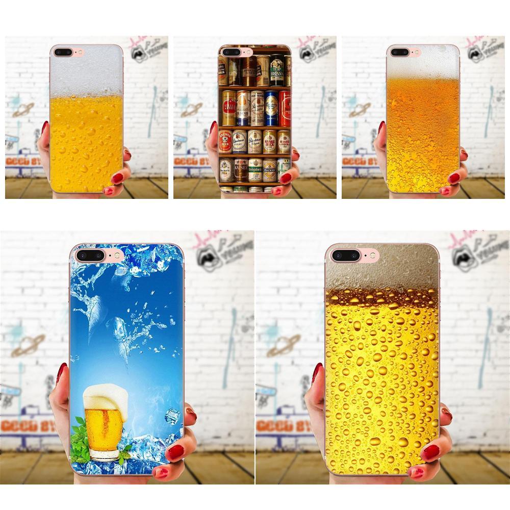 El helado un vaso de cerveza de verano de burbuja para Xiaomi CC9E Mi3 Mi4 Mi4i Mi5 Mi 5S 6 6X 8 9 SE jugar Plus Pro Lite A1 mezclar 2 Nota 3