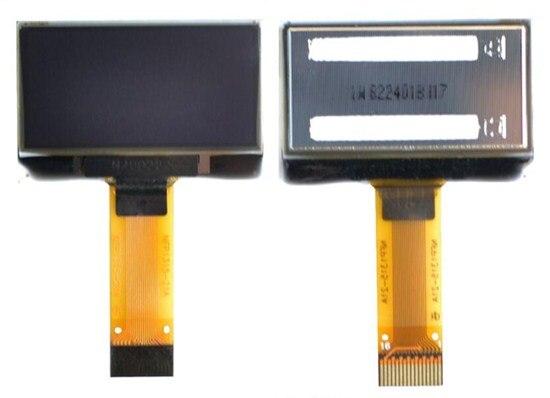 IPS 1,29 pulgadas 16PIN blanco PM pantalla OLED SSD1315 Compatible SSD1306 conducir IC 128*64 8Bit paralelo/SPI interfaz IIC