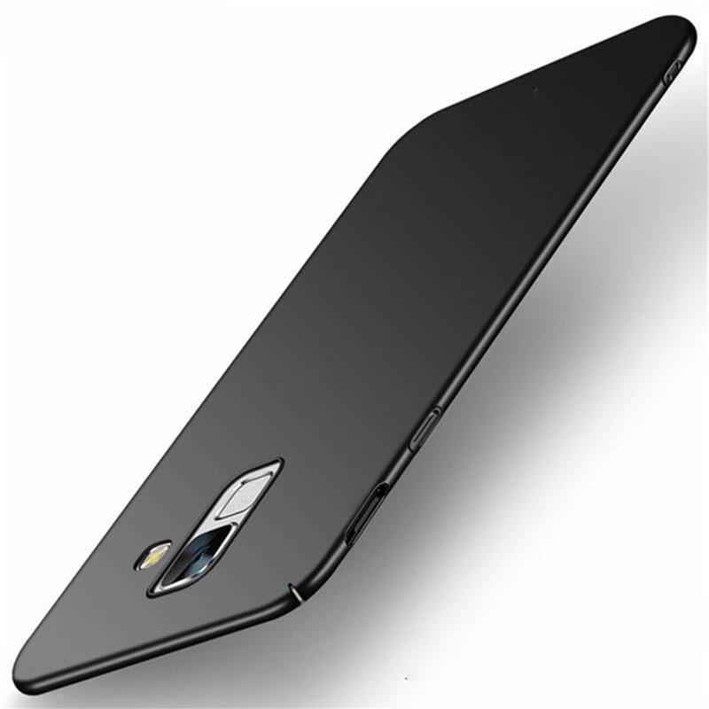 Capa dura de proteção fina para celular, para samsung galaxy a10 a30 a40 a50 a70 j4 j6 a6 a8 a9 2018 note 8 9 10 s7 edge s8 s9 s10 plus