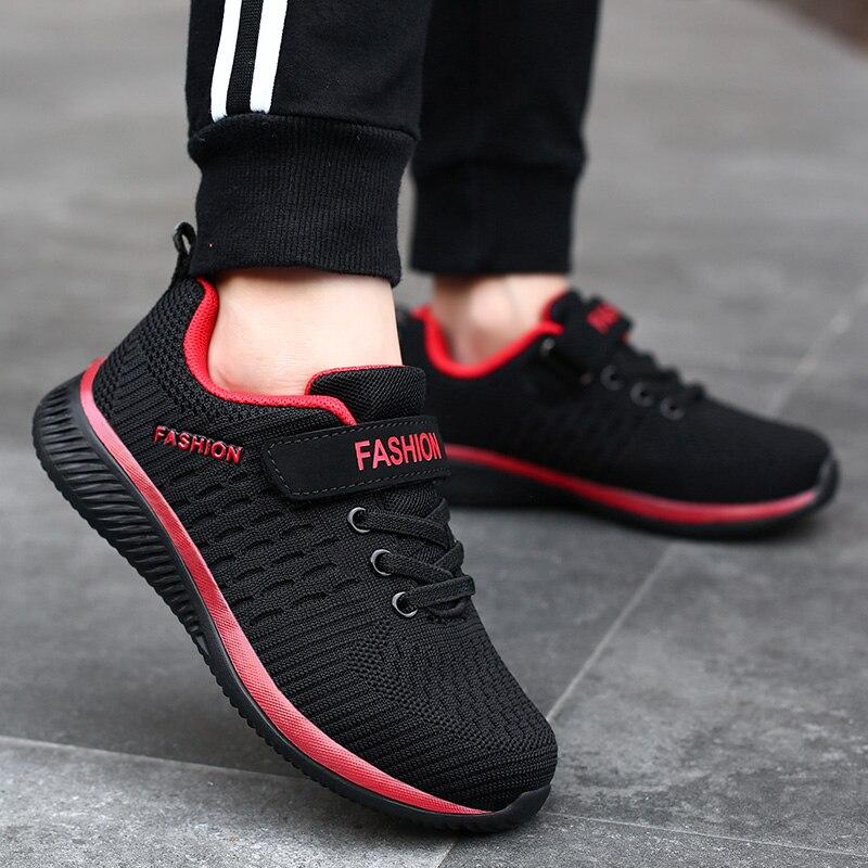 Детские кроссовки для мальчиков и девочек, Модные дышащие, легкие, Повседневная прогулочная обувь, для бега, 2021 Кроссовки    АлиЭкспресс