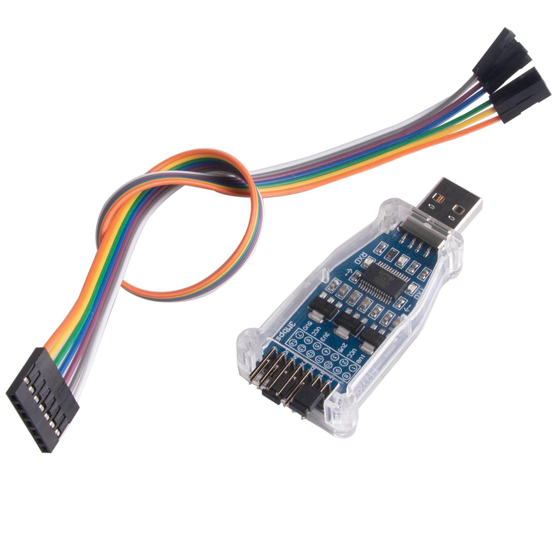 FTDI USB 2,0 a UART TTL 4 nivel 1,8 de 2,5 de...