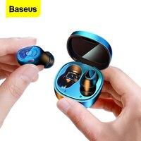 Мини-наушники Baseus WM01 беспроводные TWS, Bluetooth-наушники 5,0, гарнитура Беспроводная для iPhone 12 Pro, Xiaomi