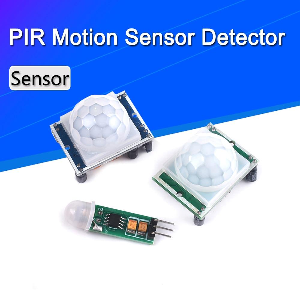 HC-SR501 HC-SR505  Adjust IR Pyroelectric Infrared Mini PIR module Motion Sensor Detector Module Bracket for arduino