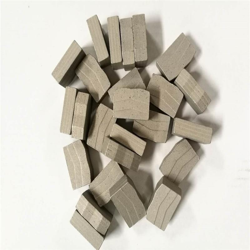 D1350mm Diamond Cutting Segments Multi Blades  Stone  Tools  for Granite Block 24*8.4/7.6*15mm   88PCS/Set
