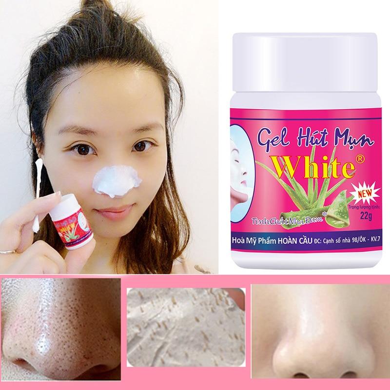 Nose Blackhead Removing Cream Face Black Head Remover Mask Cream Skin Burns Damage Repair Skin Care
