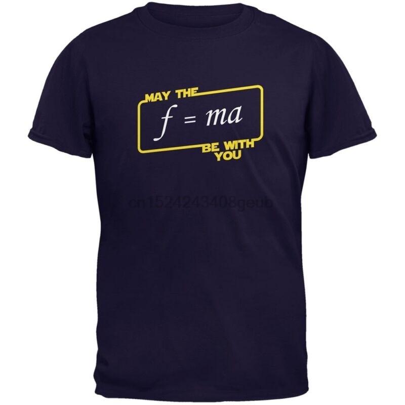 Camiseta melhor que o f = ma esteja com você