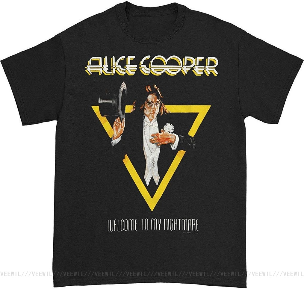 Camiseta de Alicia Cooper para hombre y mujer, camisa de bienvenida a...