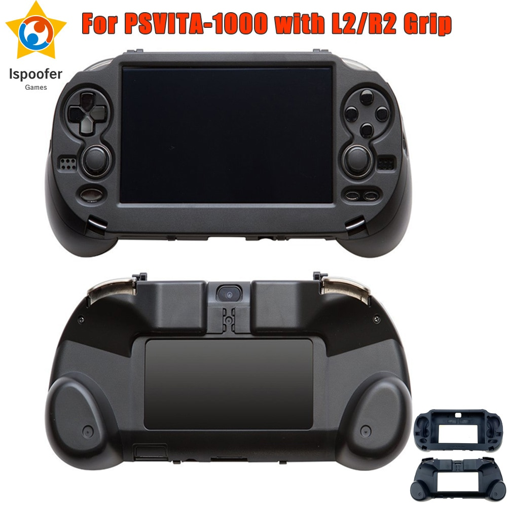 حافظة يد جديدة من فروستيد مزودة بزر تحكم L2 R2 لملحقات وحدة ألعاب PSV 1000 PS VITA PSV1000 1000
