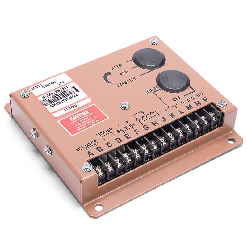 Govornor-منظم سرعة محرك التيار المتردد ESD5111 ، وحدة التحكم في الضبط ، مصدر الطاقة ، جزء التيار المتردد ، سرعة 12 فولت 24 فولت