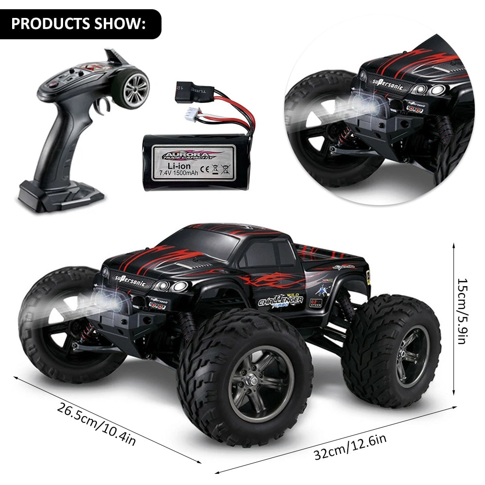 RC Cars Remote Control Car 1:12 Scale High Speed Off Road RC Truck 2.4Ghz RC Monster Trucks Racing Car Vehicles Toys enlarge