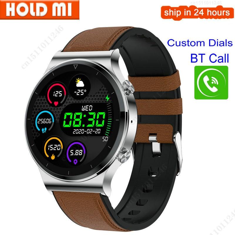 S600 Smart Watch Men BT Call 1.3 Inch Big Colorful Screen Custom Watch Face Women Smartwatch Men Android IOS VS K22