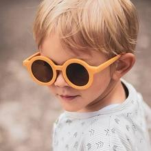 Lovely Children Decorative Kid Sunglasses Fashion Round Cute Girls Boys Eyewear Outdoor Shades Baby