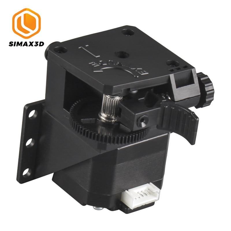 Extrusora SIMAX3D Titan, extrusora de Doble accionamiento para impresora 3D FDM de escritorio, Reprap E3D V6 j-head bowden, soporte del alimentador de filamentos de 1,75mm