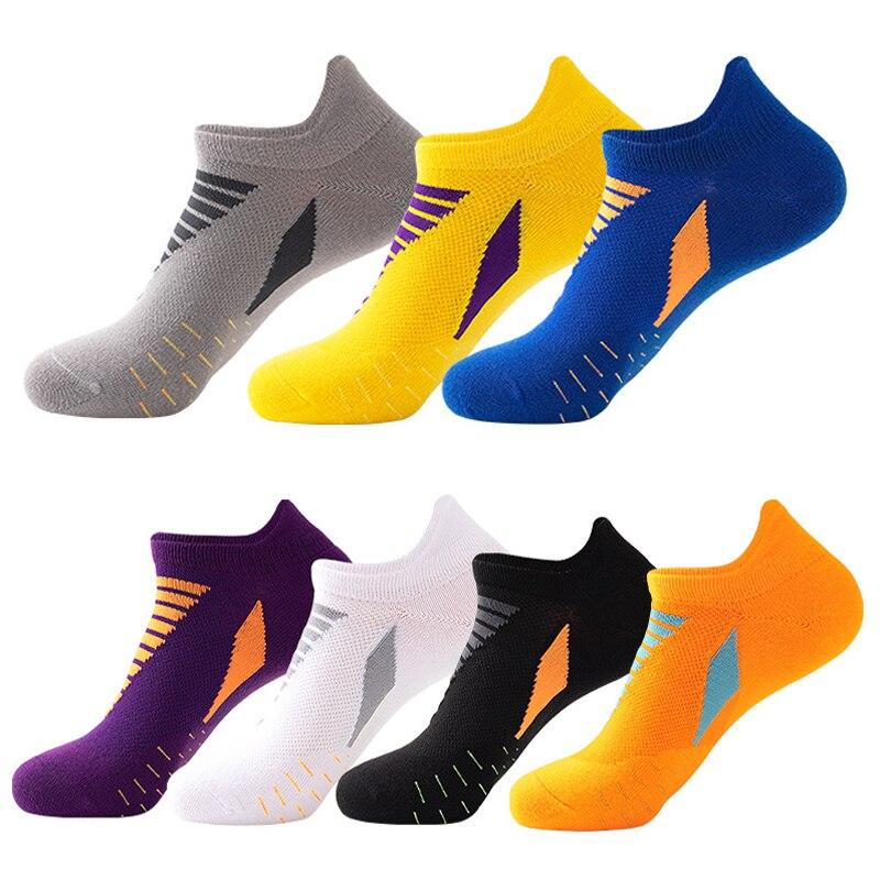 Носки 1 парт/Лот, хлопковые, большие женские, высококачественные Повседневные Дышащие мужские носки-лодочки, короткие носки, летние мужские ...