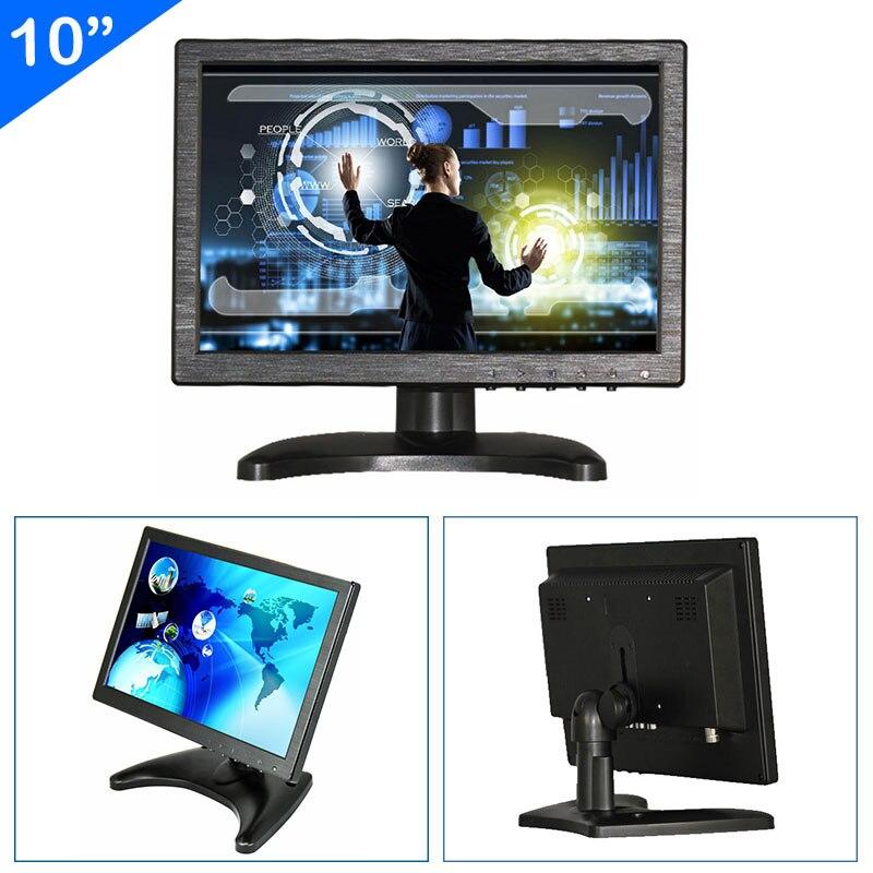 ZHIXIANDA 10 بوصة سيارة CCTV DVR المجهر شاشة العرض مع BNC HDMI AV VGA USB المدخلات