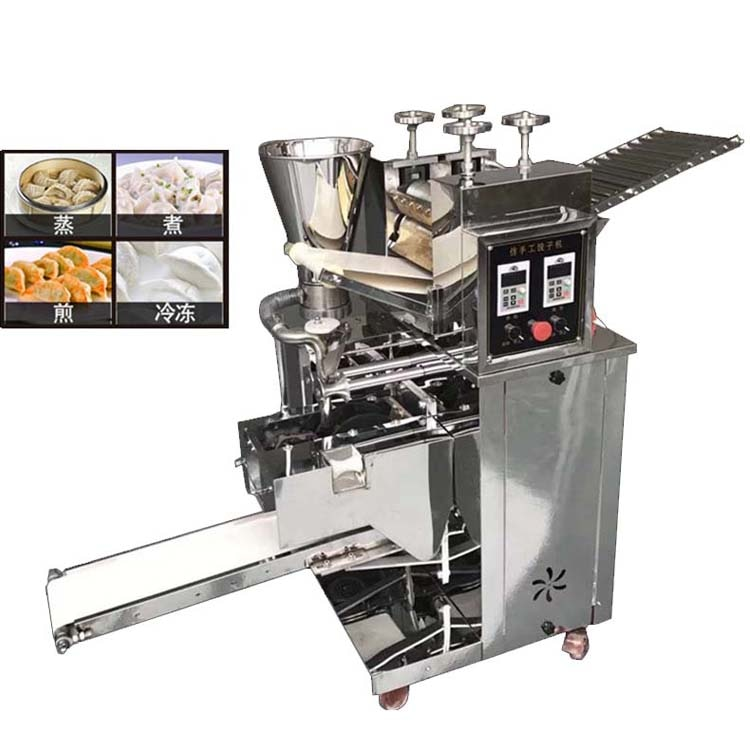 110 v-240 v bolinho chinês que faz a máquina/máquina do fabricante de samosa/ravioli com ce