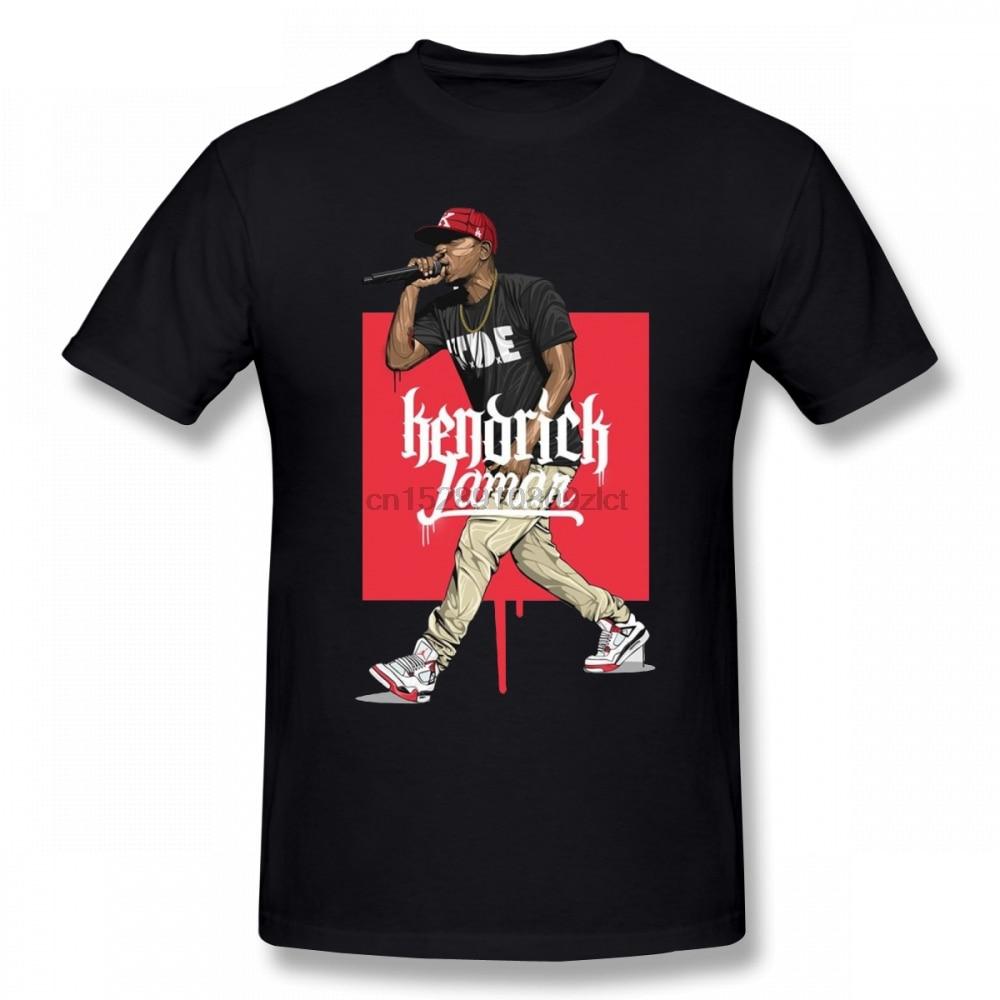 2019 New Kendrick Lamar T Shirt Funko Pop Tshirt Men Cotton Crewneck Plus Size Short Sleeve T Shirts For Boys