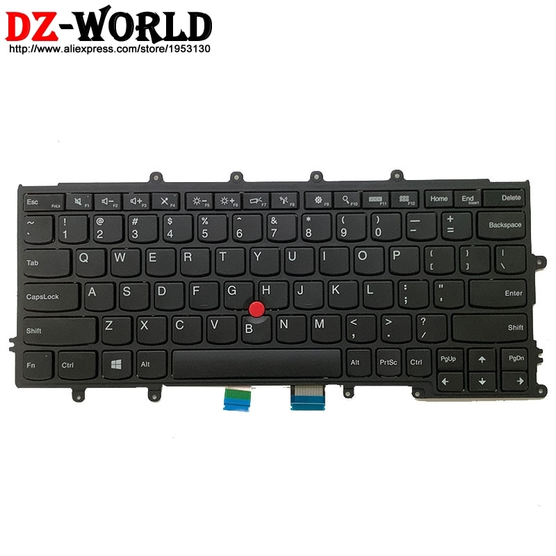 US English New Keyboard for Lenovo Thinkpad X230S X240 X240S X250 X260 Laptop 04Y0900 04Y0938