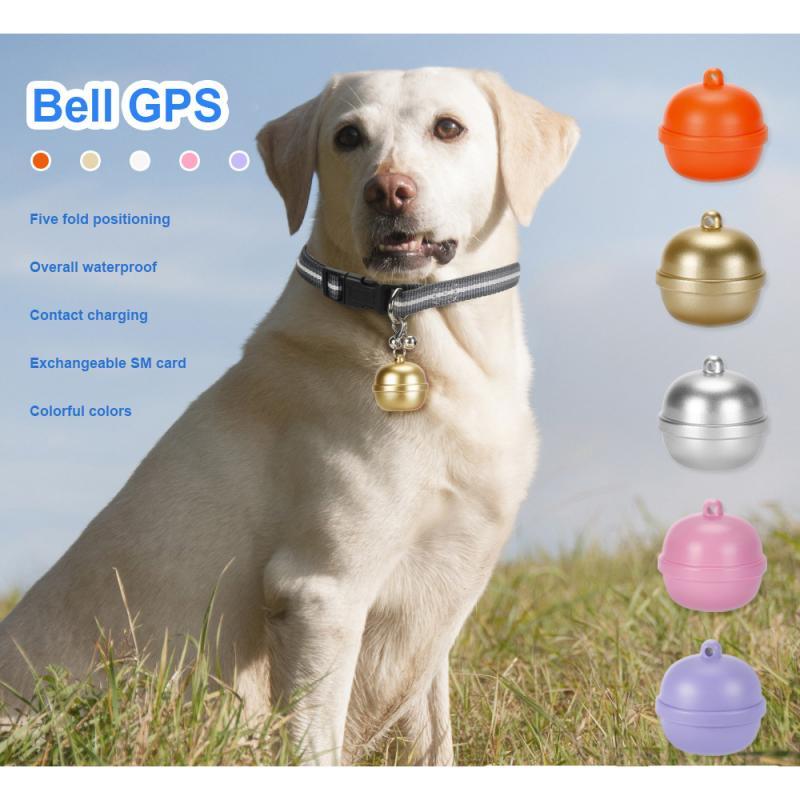 Ошейник для домашних животных, умный GPS-локатор, защита от потери, водонепроницаемый электрический ошейник для собак и кошек