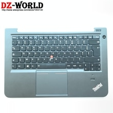 Palmrest boîtier supérieur avec clavier français rétroéclairé FR pavé tactile pour Lenovo Thinkpad S3 S431 S440 rétro-éclairage Teclado 04X1003 04X0966