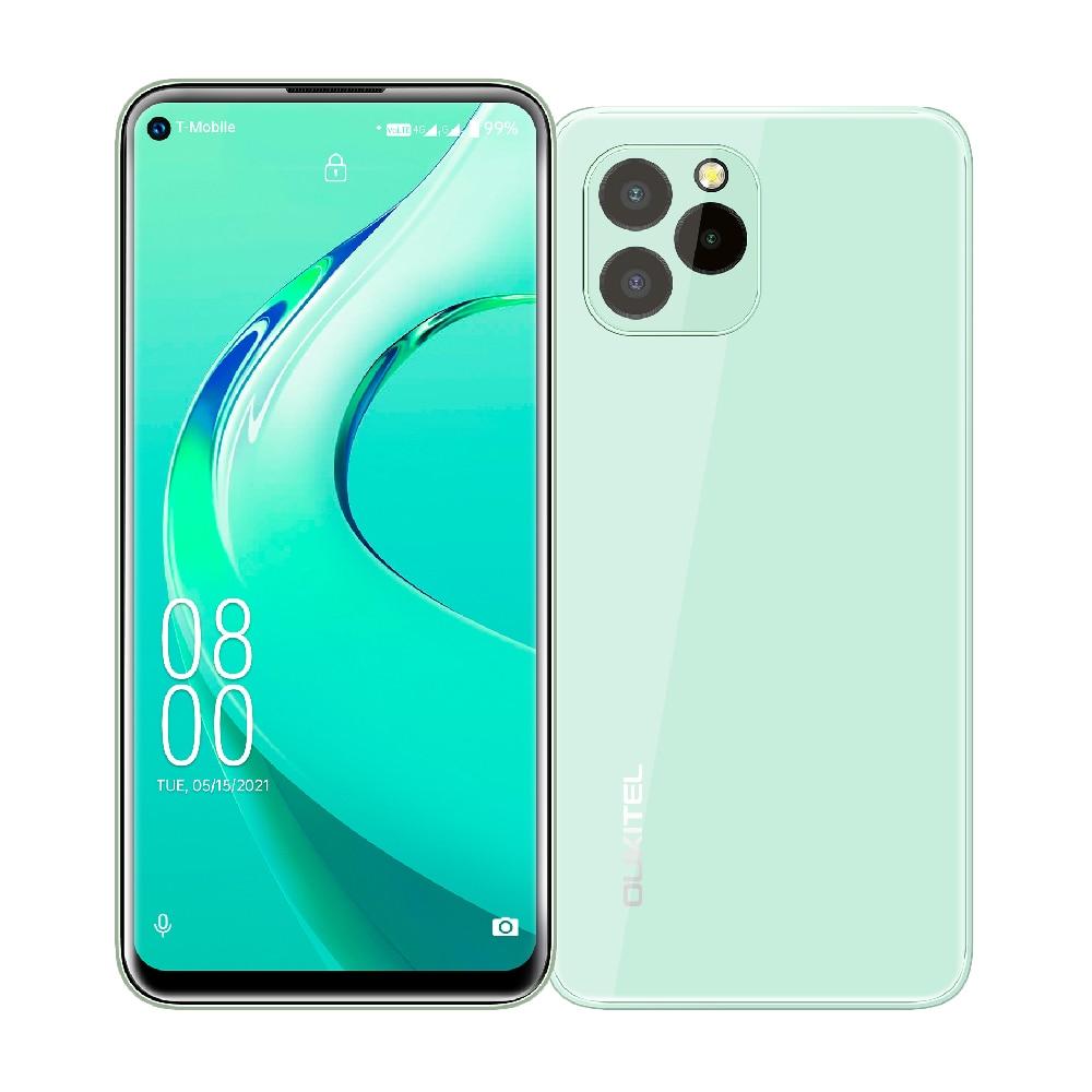 Перейти на Алиэкспресс и купить 4G Android 11 мобильный телефон OUKITEL C21 Pro 4 Гб + 64 Гб MT6762D восьмиядерный смартфон 6,39 ''HD экран 21MP задняя камера 4000 мАч