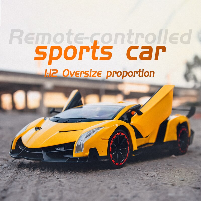 Toys For Children Voiture Rc 4wd Styling 1:10 Remote Radio Control Racing Car Sports Drift