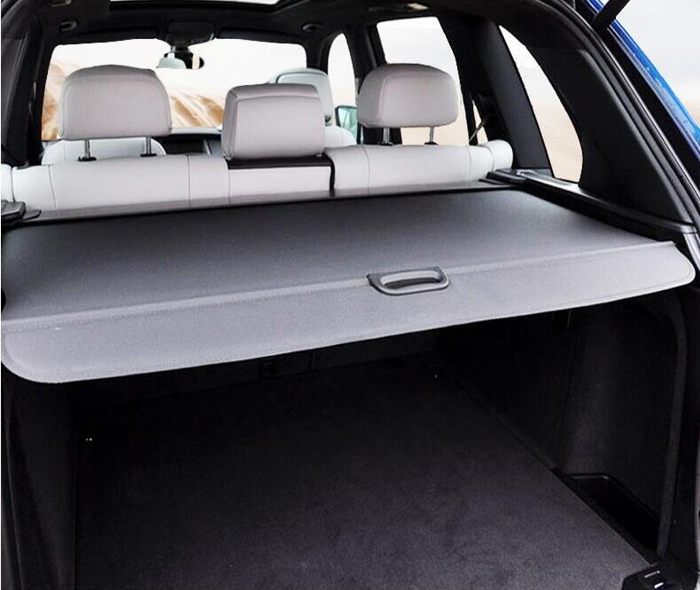High Qualit Car Rear Trunk Cargo Cover Security Shield Screen shade Fits For  Jeep Cherokee 2014-2017 (black, beige) enlarge