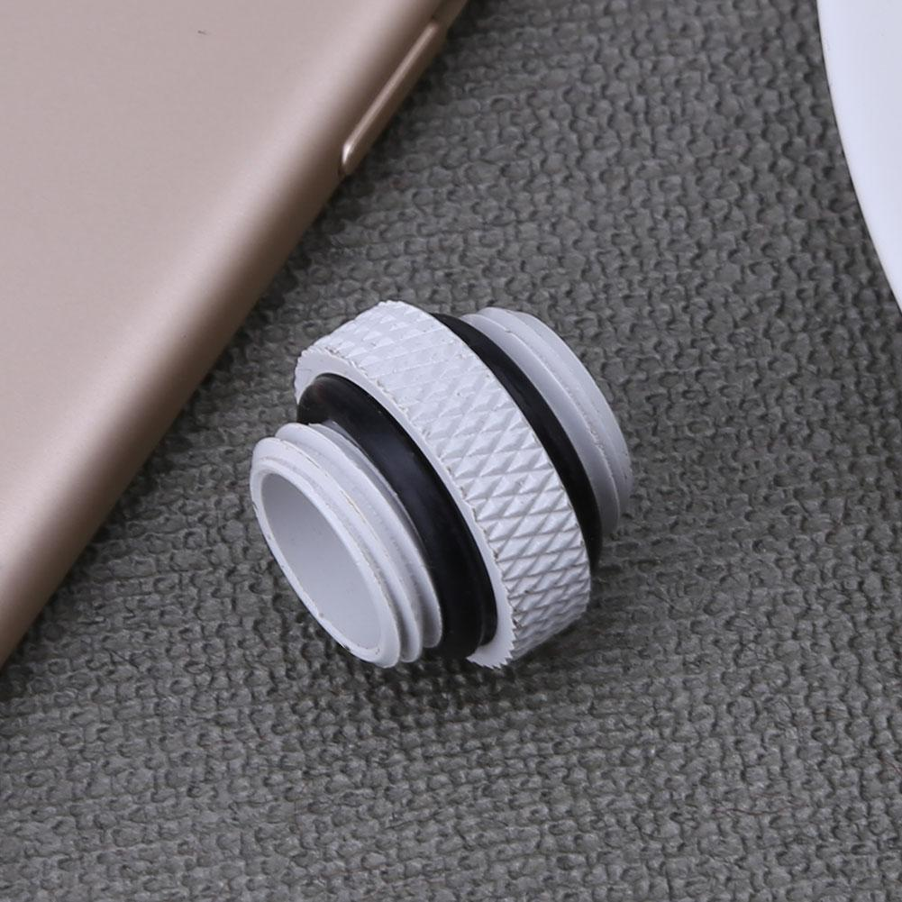 G1/4 Dual External Thread Hose Connector for PC Water Cooling System PC Computer Water Cooling Accessories