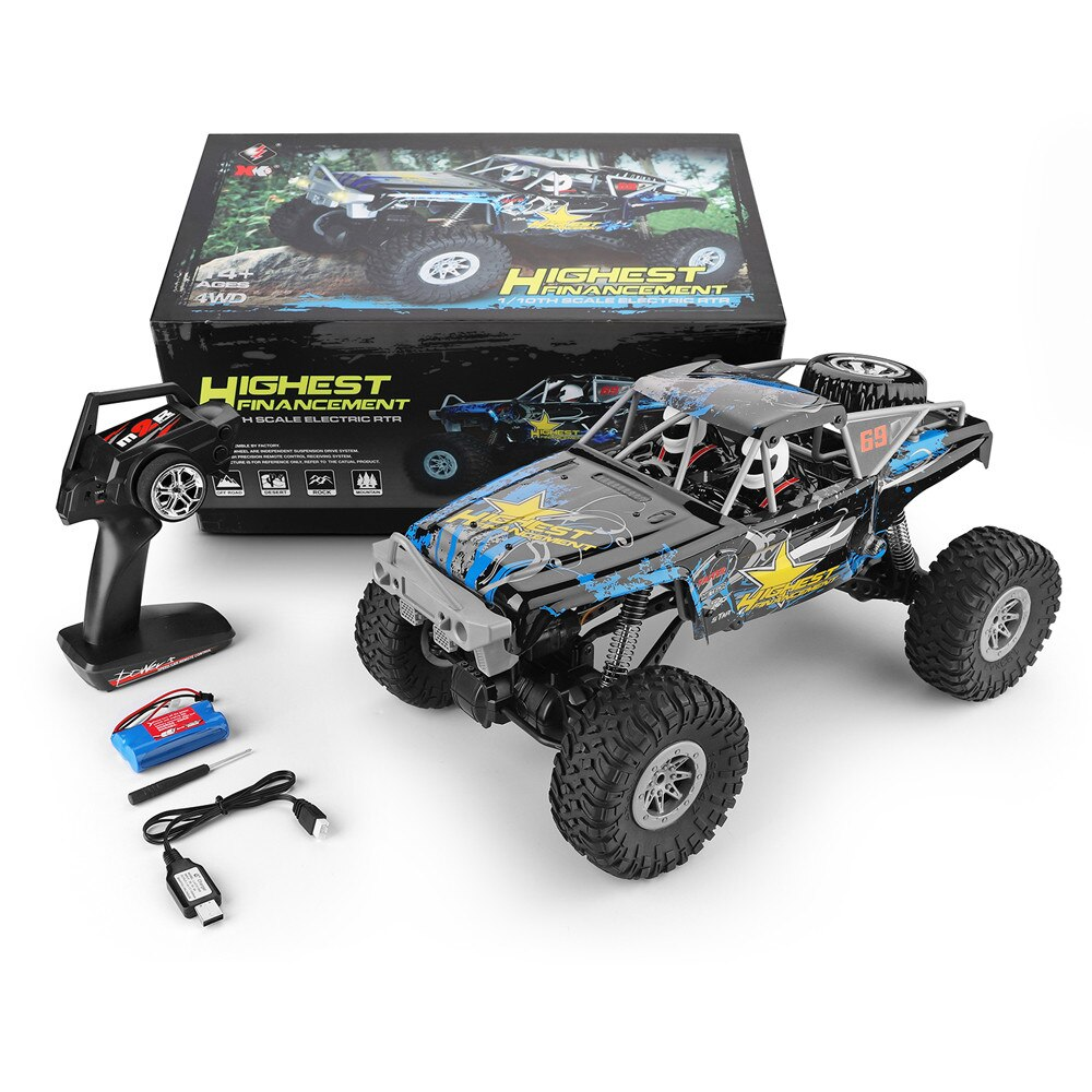 1/10 RC Car Wltoys 104310 RTR 4WD radio controlled car Toys for children Adult Boy rc drift Buggy Off-Road Electric racing Cars enlarge