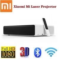 Xiaomi     projecteur Laser MI Full HD 1080P  3D  Android TV  video LED  Home cinema  telephone sans fil  ALPD  WiFi  bluetooth  jeu