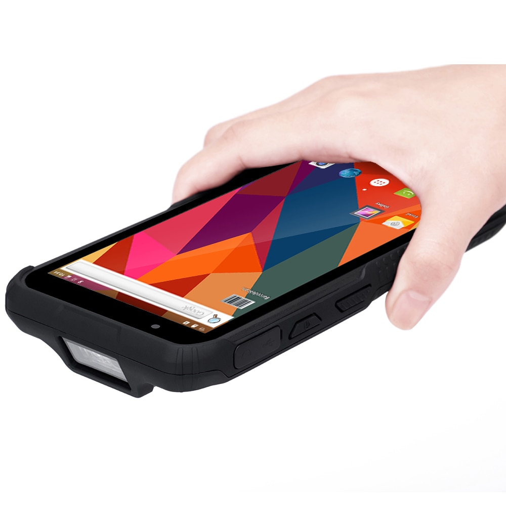 6,0 pulgadas 4G 3G WiFi Bluetooth de mano PDA 1d lector de código de barras portátil 2D escáner de código de barras PDA