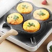 four mold fried egg burger non stick household mini pan egg meat burger mold egg dumpling artifact