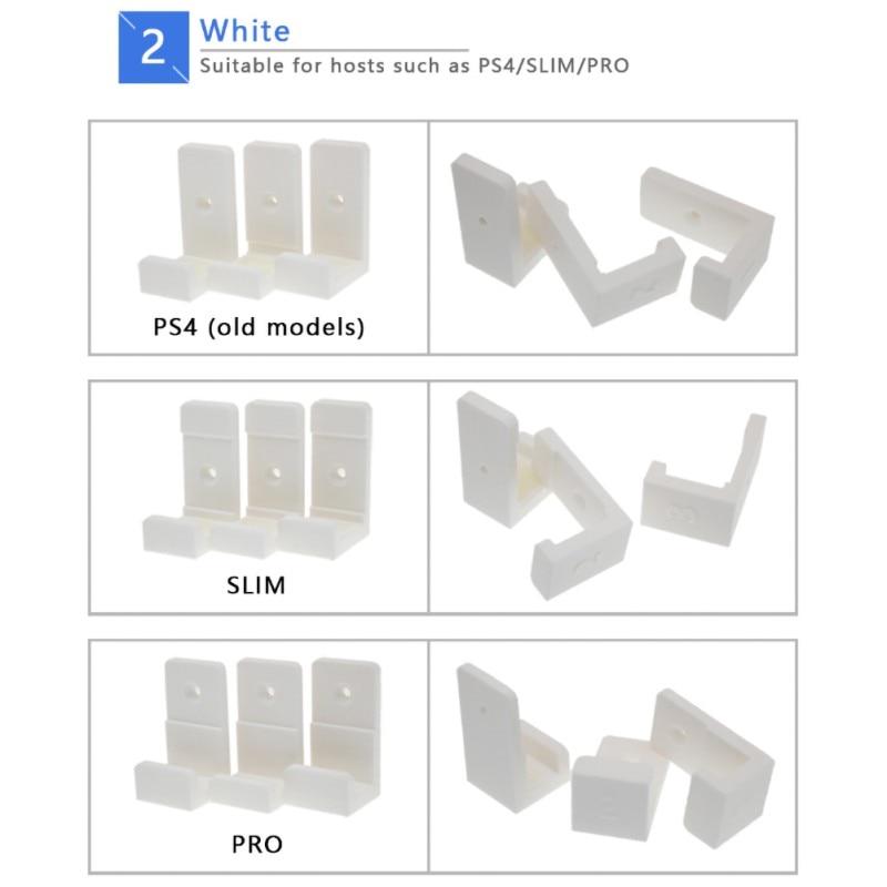 Wall Stand Controller Mount Joystick Dock Camera Bracket for PS4 PS4 PRO PS4 Slim Game Storage Holder Rack Handle