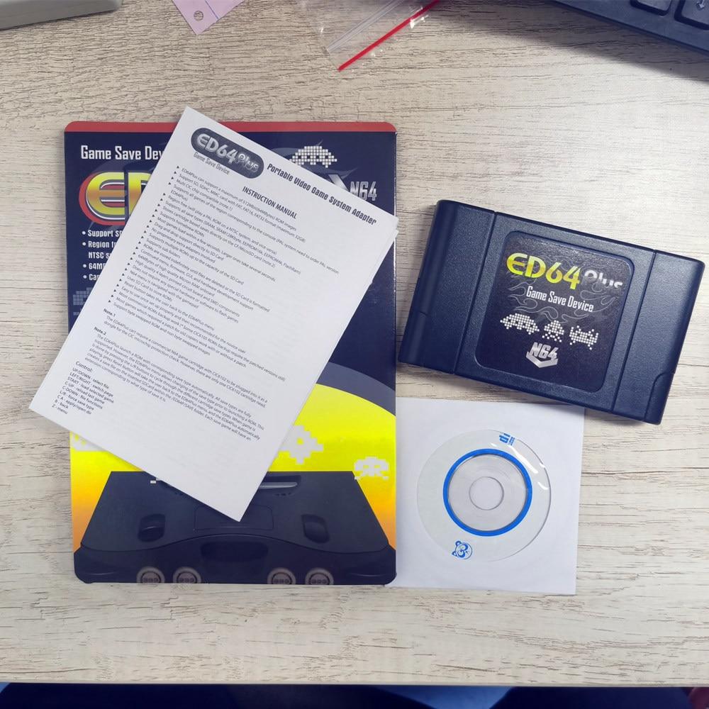 Cartucho de juego Retro DIY 340 en 1 con caja de venta al por menor para consola de videojuegos de 64 bits, tarjeta compatible con NTSC y PAL
